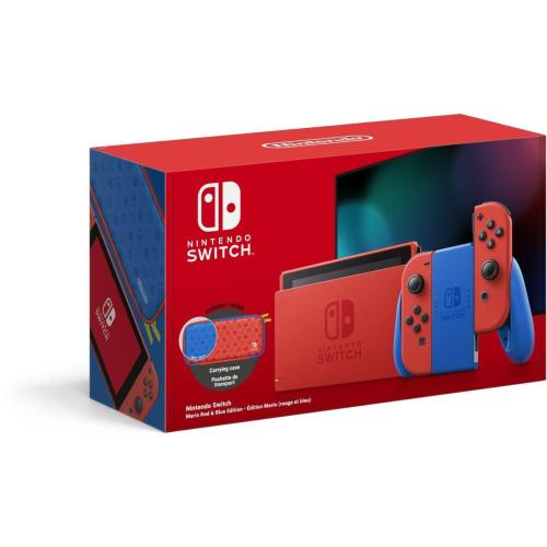 Nintendo Switch Console Mario Red & Blue Edition