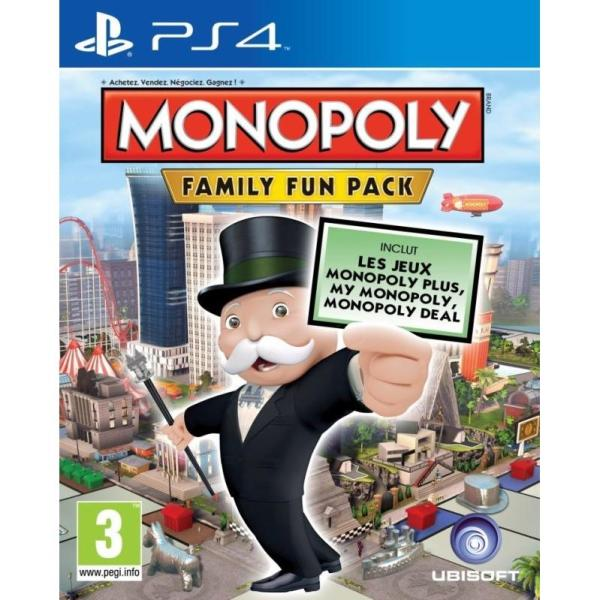 Monopoly: Family Fun Pack PS4