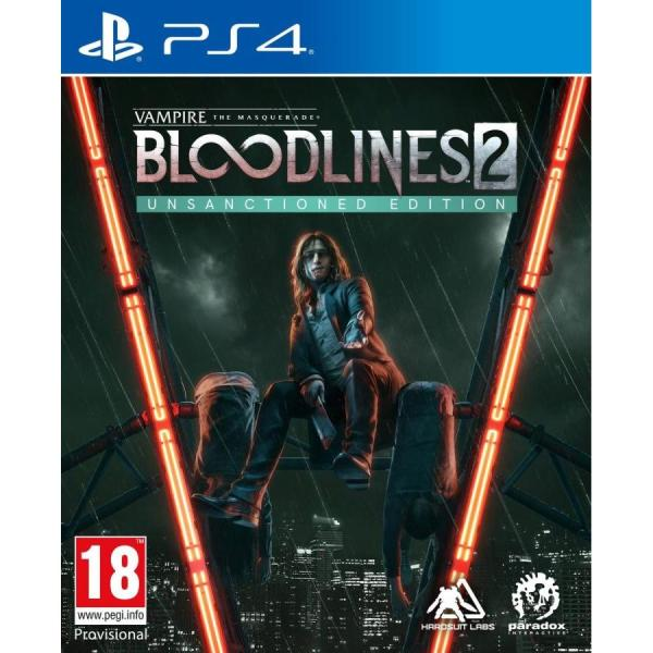Vampire: The Masquerade - Bloodlines 2 Unsanctioned Edition PS4