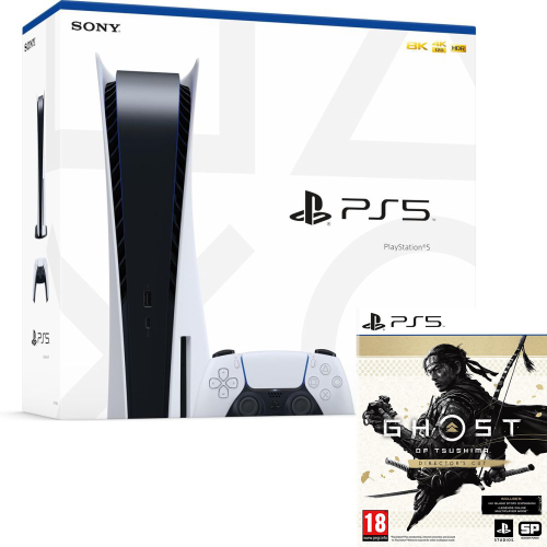 PlayStation 5 Disk Edition + Ghost of Tsushima - Director's Cut