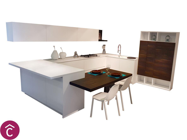 Cucine Moderna Angolare Opaco Bianca  Dos Srl Bari