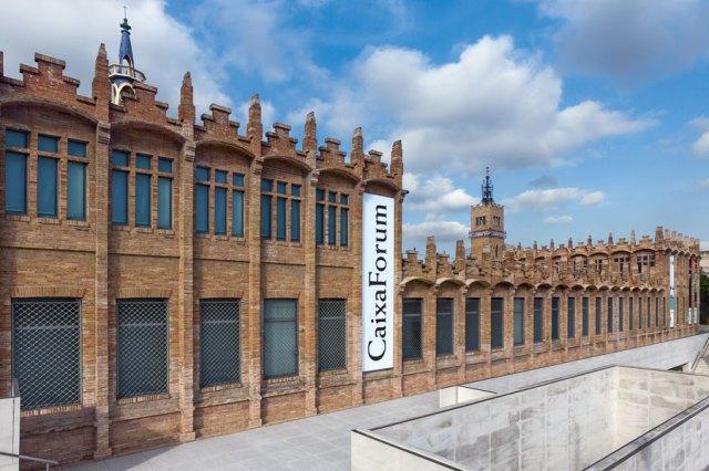 Fachada de Casaramona, sede de Caixaforum