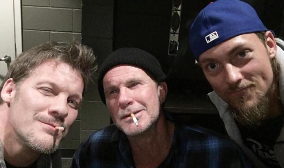 La anécdota de Rusev con Chris Jericho y un miembro de Red Hot Chili Peppers
