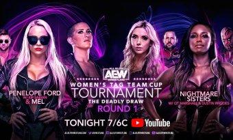 AEW Women's Tag Team Cup Tournament – Ronda 1