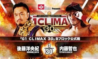 Resultados NJPW G1 Climax 30 – Día 6 29.09.2020