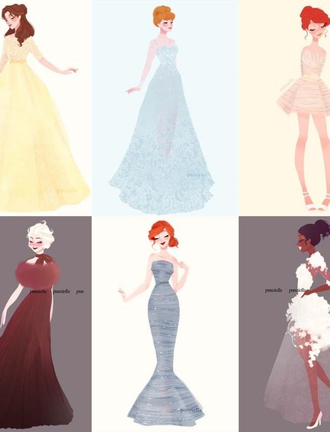 ilustração-disney-princesas