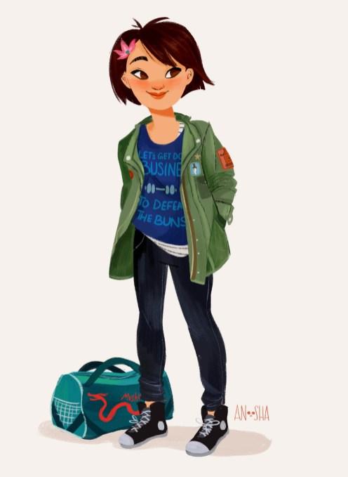 ilustração-anoosha-Mulan