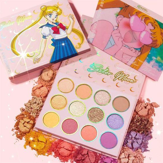 A coleção da Sailor Moon com a CoulorPop (Foto: Divulgação)