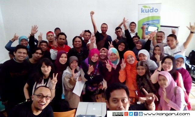 Kelas Blogger di Kudo Bandung