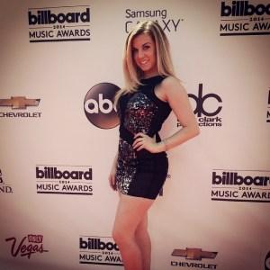 At the 2014 Billboard Awards red carpet