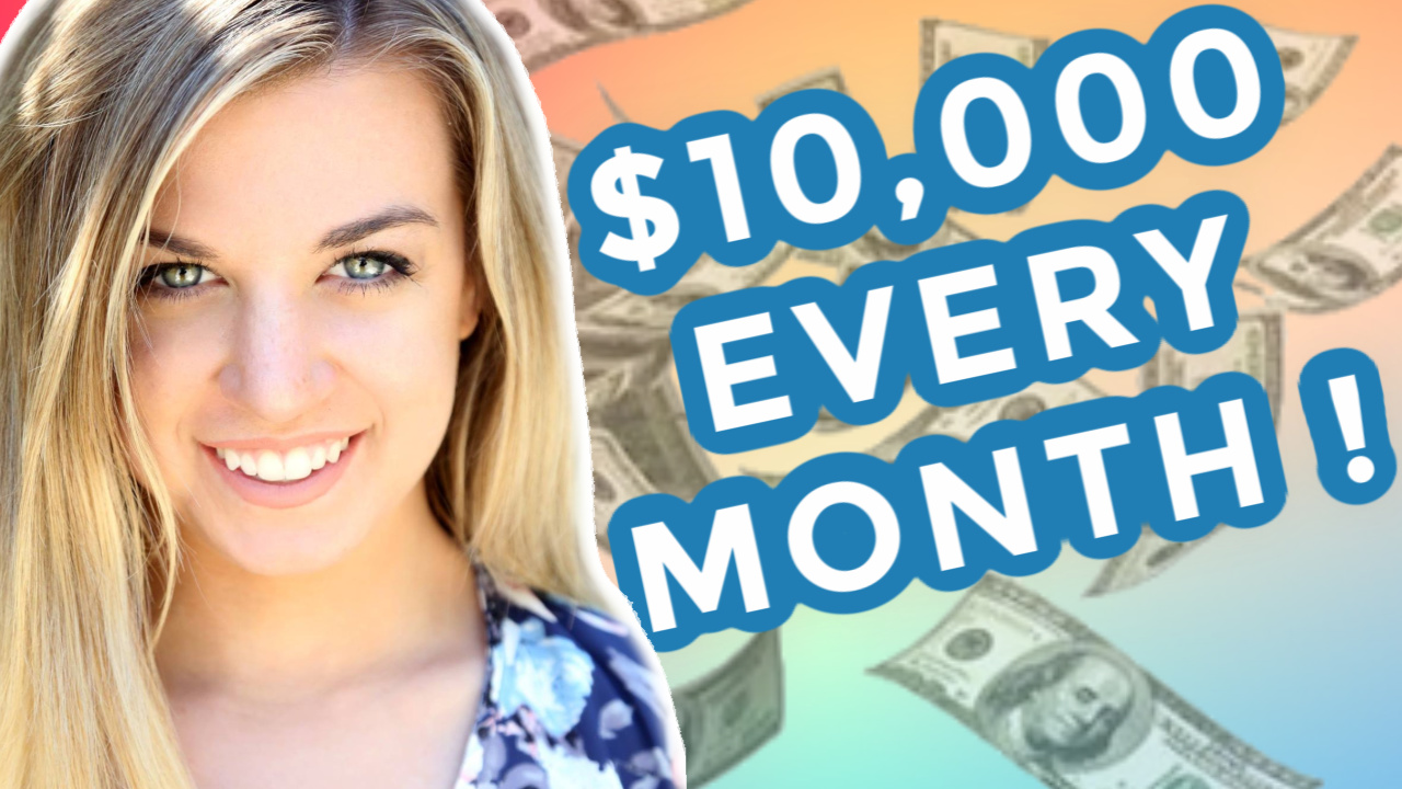 How I Manifested $10,000 Per Month