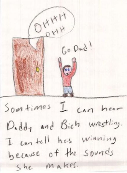 Super Creepy Kid Drawings  Dose of Funny