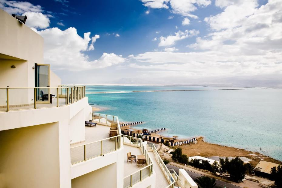 Beautiful View On The Dead Sea. Morning.