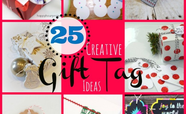 25 Creative Gift Tags Catholic Sprouts