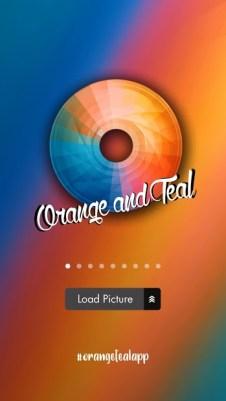 orange teal app best app for social media do something new