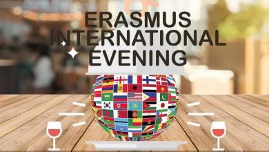 Photo of Erasmus International evening