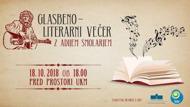 Photo of Glasbeno-literarni večer z Adijem Smolarjem
