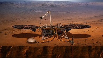 Photo of Insight uspešno pristal na Marsu