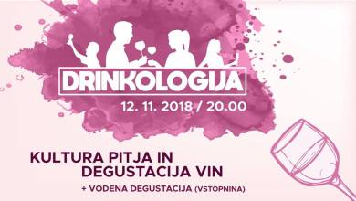 Photo of Drinkologija: Kultura pitja in degustacija vin