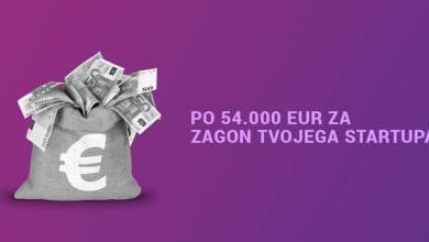 Photo of Po 54.000 EUR za zagon tvojega startupa