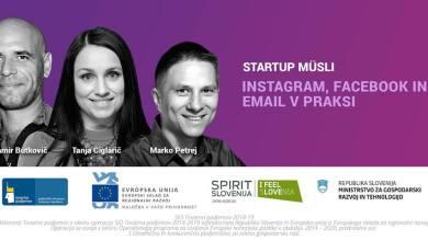 Photo of Start:up Müsli: Instagram, Facebook in email v praksi