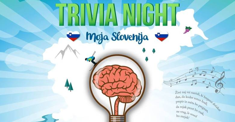 Trivia night – »Moja Slovenija«