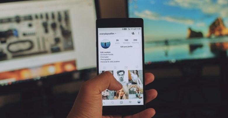 Instagram všečkanje