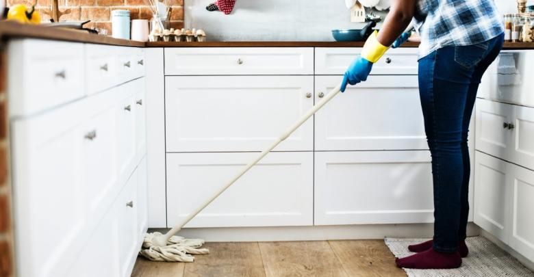 Čiščenje kuhinje