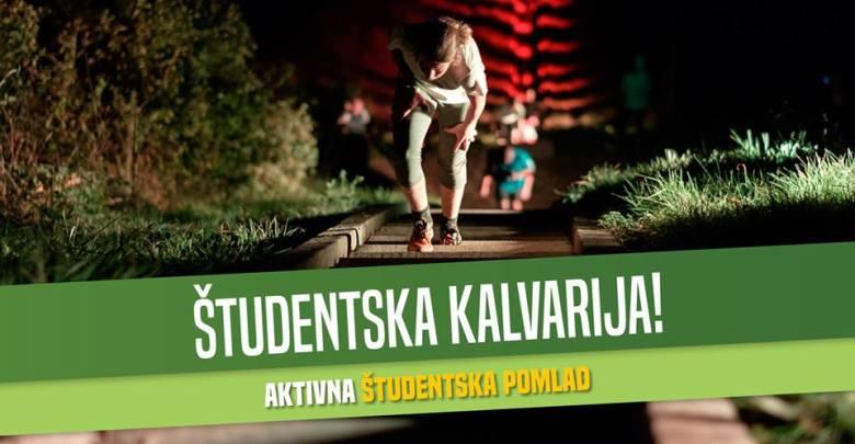 Študentski nočni pohod na Kalvarijo 2019