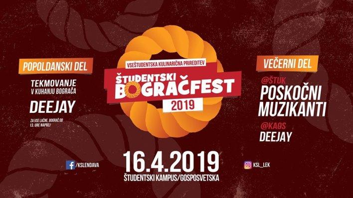 16. Študentski Bogračfest Maribor