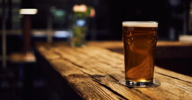 Pivo na pultu