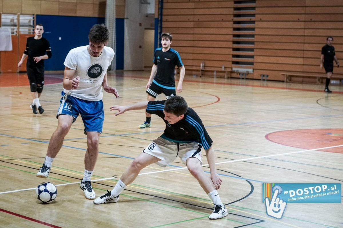 Finale študentske futsal lige 2019 - ŠOAM proti BlackJack