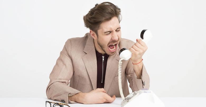Kričanje v telefon