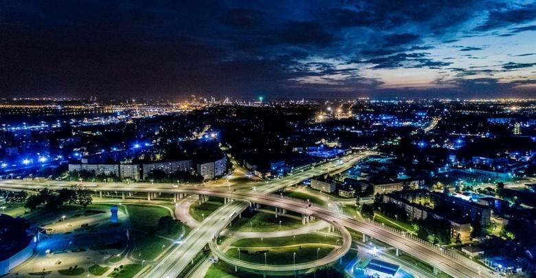 Riga, Latvija ponoči