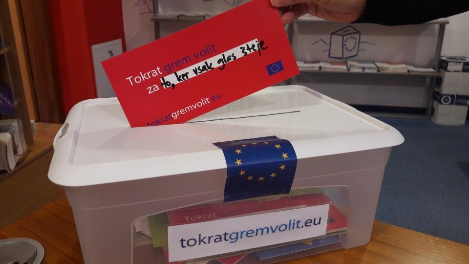 Tokrat grem volit glasovanje EU