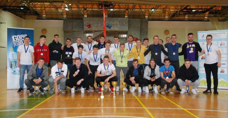 DUP, futsal, odbojka, Univerza v Mariboru, Univerza v Ljubljani, Univerza n Primorskem