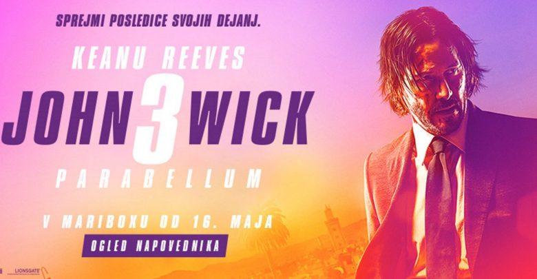 John Wick, John Wick 3, recenzija, John Wick – Parabellum