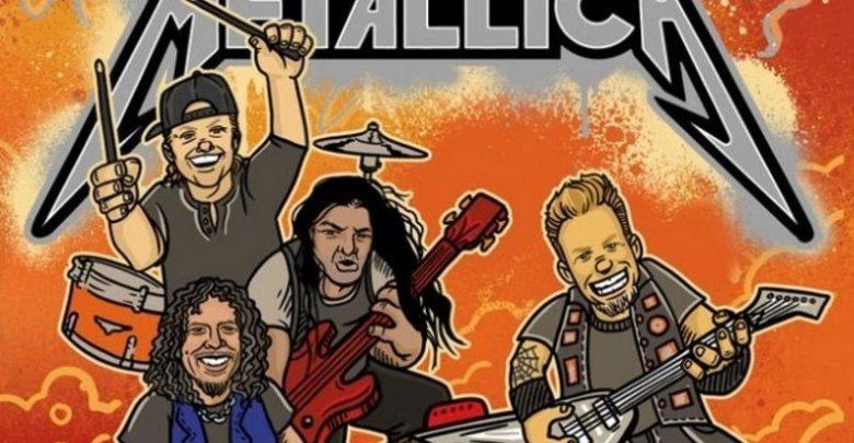 Metallica, The ABCs of Metallica, knjiga, otroška knjiga,