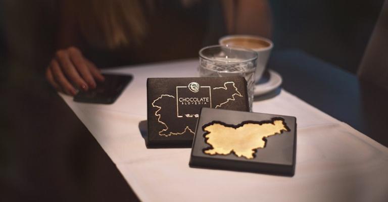 Slovenija GOLD edition, 3D Čokoladne Slovenije, čokolada, Slovenija, čokolada,