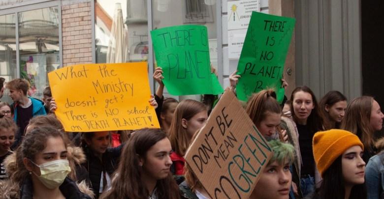 podnebno pravičnost, mladi, Mladi za podnebno pravičnost,