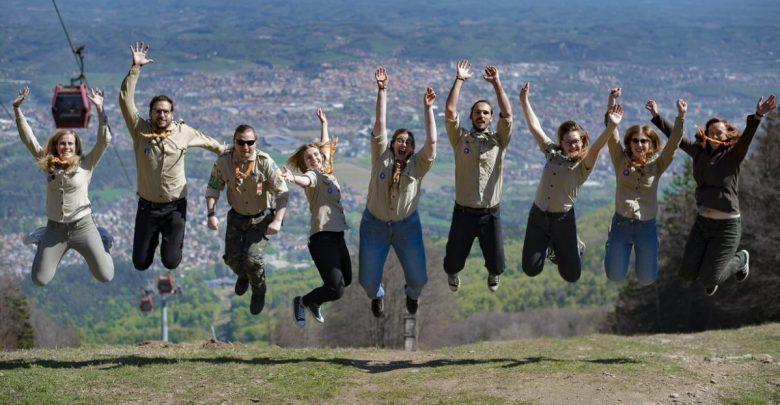 tabornikov, SNOUB, taborniki, ROT, Republiško orientacijsko tekmovanje