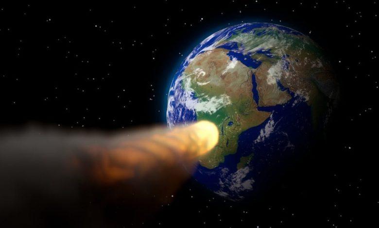 Razstrelitev asteroida,