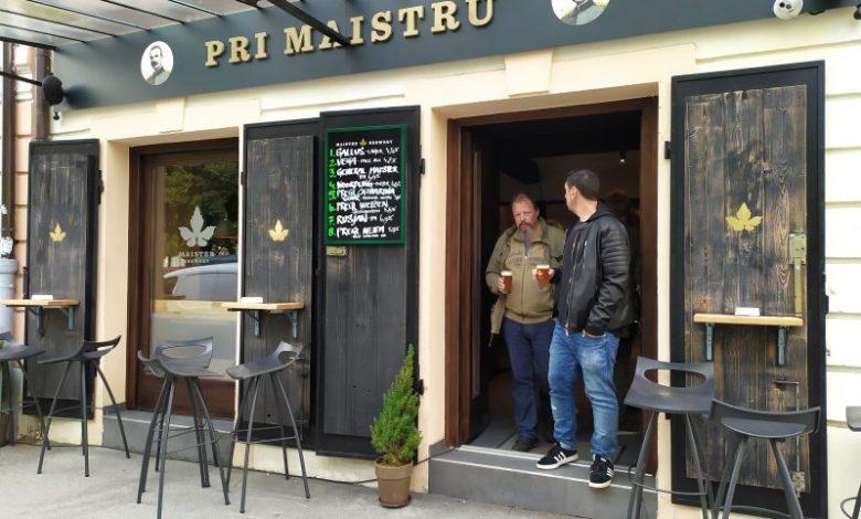Andrej Krštinc, Maister Brewery, pivnica, pivo, Rudolf Maister, Filip Flisar, Pizza Fabrika, Maribor
