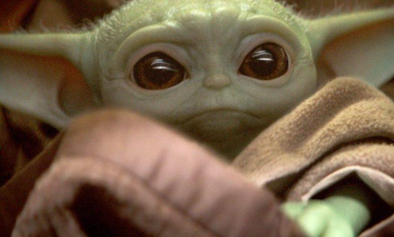 Yoda, mali Yoda, Vojna zvezd, The Mandalorian, Jedijeva vrnitev, meme, memi, internet
