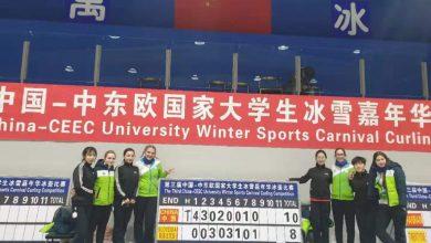 curlingašice, Tekmovanje, curling, zimski festival univerzitetnega športa, curlingaši, Kitajska,