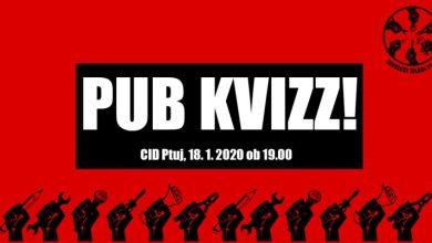 Photo of Sindikat Mladi plus predstavlja: Sindikalni pub kviz na Ptuju!