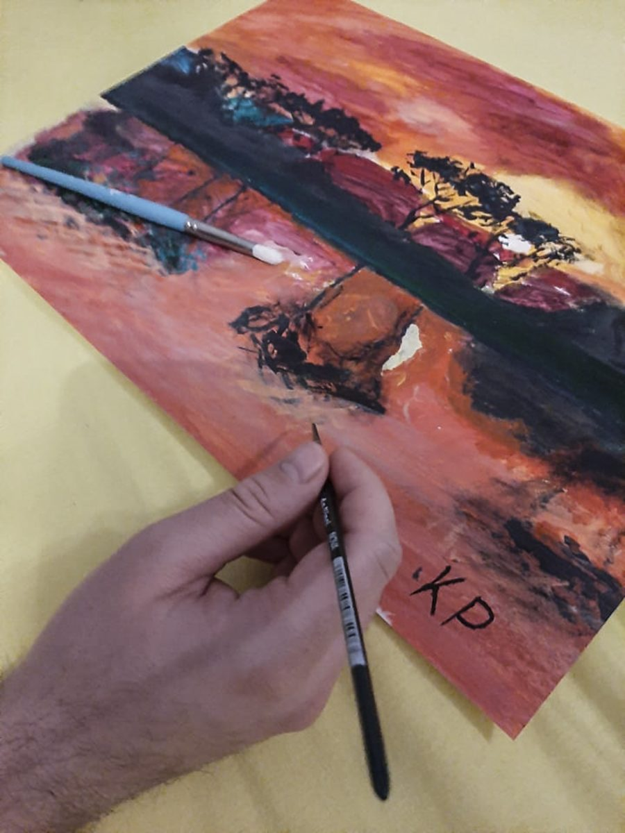 slika, slikanje, risanje, umetnost