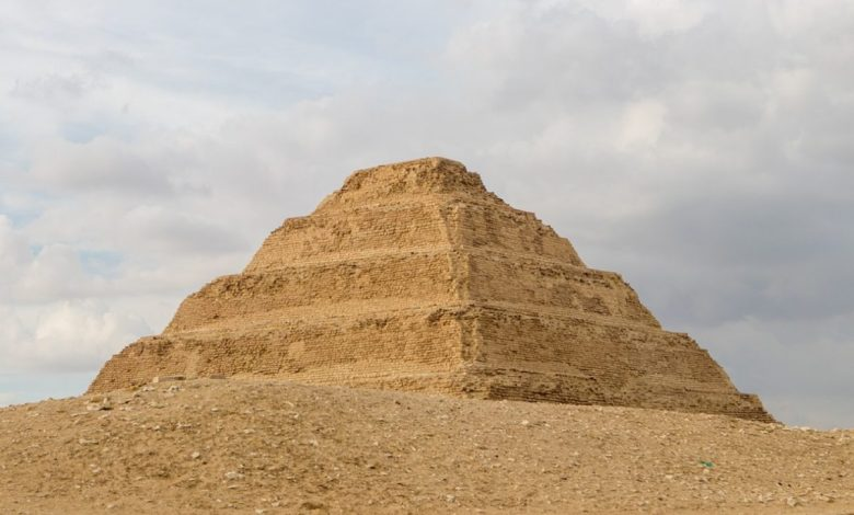 Obnovili in odprli, Egipt, piramida, Džoserja,, Džoserjevo