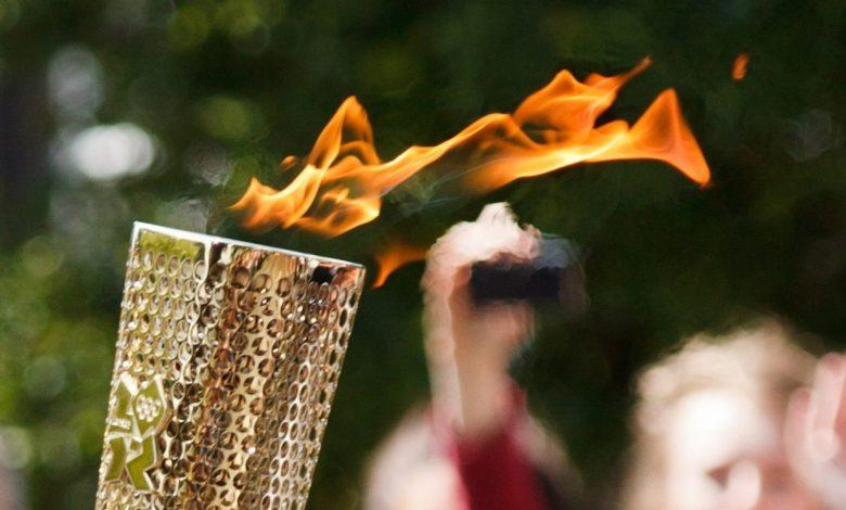 Prižig olimpijskega ognja, Odločitev, Mednarodnega olimpijskega komiteja, Mednarodni olimpijski komite, Slovesnost, Fukushima,
