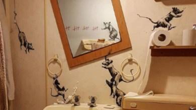 Photo of Banksy v umetniškem delu iz izolacije razkriva  težave s podganami